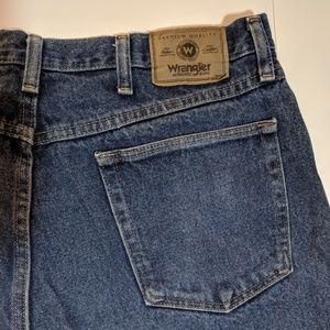 Wrangler Men's Relaxed Fit Jeans- 36x30